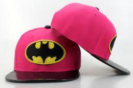 Wholesale Batman Hat Snapback - 2015 Fashion batman Cartoon Robot Children cap, Unisex Kids Snapback Caps Baseball Caps, Casquette hat Hip-hop Summer Sun Hats Caps