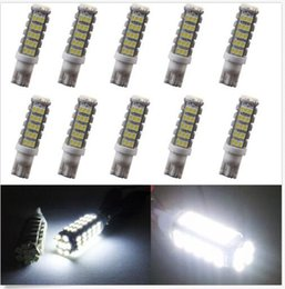 Wholesale led brake light bulb red - 10PCS T10 Cool White 68SMD CAR Backup Reverse LED Light Bulb 921 912 906 168 W5W wholesale