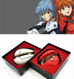 Wholesale Asuka Langley - Wholesale-New Neon Genesis Evangelion EVA Ayanami Rei & Soryu Asuka Langley Hair Clip 2Pair