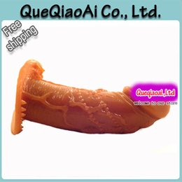Wholesale Extended Penis - w1030 QT177 glans penis condoms, penis enlargement enhancer, penis extend sleeve, sex toy for man, adult products