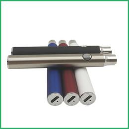 Usb cargado vape pluma online-LOGOTIPO personalizado OEM Batería de voltaje variable de vaporizador al por mayor EE. UU. Venta caliente precalentamiento o pluma batería de vape Carga micro usb inferior