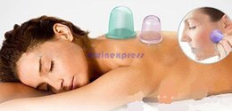 Wholesale Silicone Health Care - Small Body Cups Anti Cellulite Vacuum Silicone Massage Cupping Cups Health Care 5pcs set
