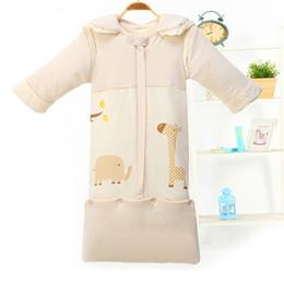 Wholesale Thicken Baby Sleeping Bag - Wholesale- Children Newborn baby Infant Sleep Sack Straddle Winter Cotton Thicken Warm Lengthen Sleeping Bag Baby Bedding Accessories