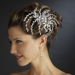 Wholesale Discount Wedding Hair Accessories - Shining Big Discounted Wedding Bridal Accessories Crystal Rhinestone Headpieces High Quality Wedding Accessories Bridal Accessories HY 372