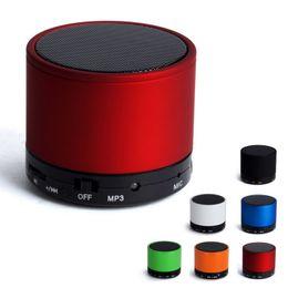 Wholesale Mini Stereo Bluetooth Handsfree - Good Quality Portable Mini Wireless S10 Handsfree Car Bluetooth Speaker HiFi Stereo Music Box Speakers for Phone Laptop Table PC Pad