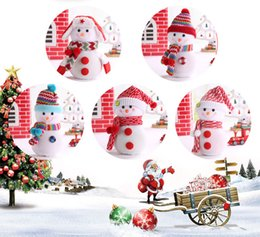Wholesale Wholesale Apple Products China - 2017 New Hot Christmas products, new snowman, Christmas Eve, apple bag, gift bag, Christmas decorations Made in China Free Shipping DHL
