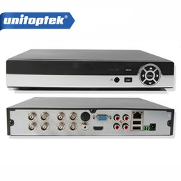 Wholesale Dvr Security System - 8CH 1080N AHD DVR NVR HVR For HD CCTV Analog Network Security Camera Support P2P Cloud HDMI VGA Output XMEye Onvif CCTV System