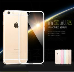 Wholesale S3 Clear Silicon - iphone 6 Transparent TPU case cases Clear soft silicon Back Cover for iphone 4 4s 5 5s 6 6s plus samsung galaxy s3 s4 S5 S6 edge note 3 4 5