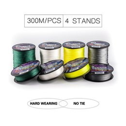Wholesale Spectra Braided - Explore More Brand PE Fishing Line Super Strong Spectra Braided 300M Fishing Line Fishing Tackle Fish Line 8-120LB