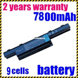 Wholesale Acer Aspire 5741g Battery - Lowest price 9 cells 6600 mAh Laptop Battery black for ACER Aspire 5741 5741g 4741 4741G 4551 4451G 4771 4771G 4738 5750 as10d75 battery