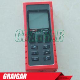 Wholesale Infrared Range Finder - Handheld Laser Distance Meter Tester UNI-T UT391A Laser Range Finder Infrared Range Finder Measure 0.05m-70m