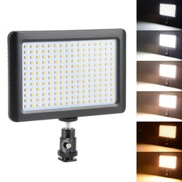 Wholesale Lights For Video Camera - Universal Wansen Pad 192 LED Video Light 3200K-6000K for Canon Nikon SLR digital Camera DV Camcorder