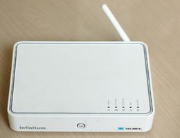 Wholesale Modem Firewall - SpeedTouch Wireless Router ADSL ADSL2 Modem Router Thomson TG585V7 V7 4ports ADSL Modem Free Shipping