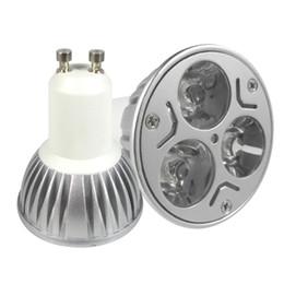 Wholesale Spotlight Socket - 85-265V 3x3W 9W GU10 Socket CREE LED Downlight Bulb Lamp Light Warm White Cool White
