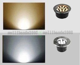 Wholesale 3W W W W W W W W LED Underground Light Waterproof White Warm White V V V V Ourdoor Square Garden LLWA044