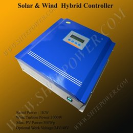 Wholesale Solar Hybrid Charge Controller - 24V 48V 1KW wind solar charge hybrid controller with LCD Display