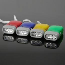 Wholesale Cheap Led Driving Lights - Cheap three light hand pressure torch | transparent LED Hand torch | Flashlight | Dynamo Light free shipping