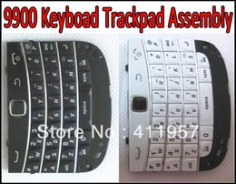 Wholesale Trackball For Blackberry - Wholesale-9900 Keypad Assembly Button + Keypad Flex + Trackpad Trackball Repair Replacement for BlackBerry 9900 9930 Free Shipping by DHL