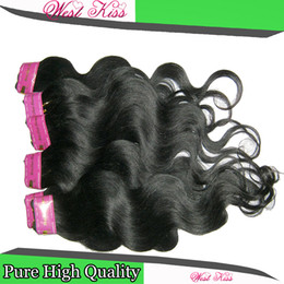Wholesale Discount Hair Bundles - 100% Hair Bundles Cheap processed Body Wave Brazilian Weave 7pcs lot Textures Clearance Student Special Discount 2018 Fashion