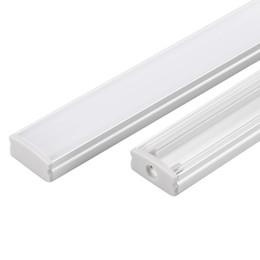 Wholesale Led Strip 12v 1m - 30m (30pcs) a lot, 1m per piece anodized led aluminum profile extrusion for led flexible strips light