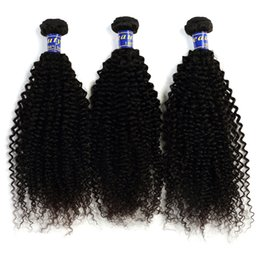 Wholesale Curly Machine Price - 100% Human Hair Malaysian Curly Virgin Hair Bundles 4 Bundles Remy Hair Extensions 10-28 Inches Natural Color Full Cuticle Factory Price