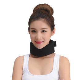 Wholesale Neck Collar Support - Adjustable Neck Support & Brace Foam Cervical Collar Wrap Stiff Neck Pain Relief Posture Corrector