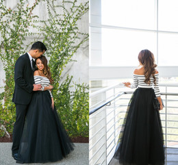 Wholesale High Waisted Long Skirts - Floor Length Black Tulle Skirts For Women High Waisted Fluffy Spring Autumn Long Skirts DIY Fashion Formal Skirts