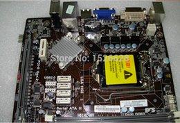 Wholesale Motherboard Ecs - Wholesale-Free shipping 100% original motherboard for ECS H61H2-MV DDR3 LGA 1155 Desktop Motherboard