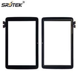 "Wholesale tablet pc for parts - Wholesale- Srjtek 10.1"" For LG G Pad 10.1 V700 VK700 Touch Screen Digitizer Sensor Glass Panel Tablet PC Replacement Parts"