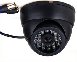 Wholesale Security Cameras Vandal Proof Dome - 2015 HOT 1 3 Color CMOS 800TVL Indoor security CCTV camera home Video Surveillance hd night vision video mini Dome Camera