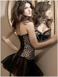 Wholesale Leopard Print Body Shaper - Wholesale-New 2015 Catwoman with a cup underwear wearing leopard corset fashion palace body shaper for women