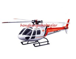 Wholesale wltoys rtf - WLtoys Helicopter V931 RTF 6CH Brushless Motor Flybarless RC 3 Blade AS350 Scale Helicopters Helicoptero