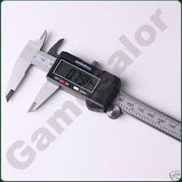 """Wholesale Digital Electronic Caliper - 6"""" 150 mm Digital Vernier Caliper Micrometer Guage Widescreen Electronic Accurately Measuring Stainless Steel Free Shipping"""