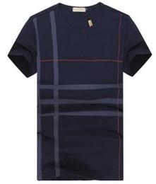 Wholesale fashion express - Top Express New Fashion London Brit Design Men T-shirt Short Sleeve Tops England Cotton T shirts Tee Black XXXL