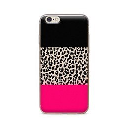 Wholesale Leopard Iphone 4s Case - Wholesale For iPhone 4 4S 5 5S 5C 6 6S 6Plus Three Color Leopard Grain Of Skin TPU Silicone Gel Protective Cover
