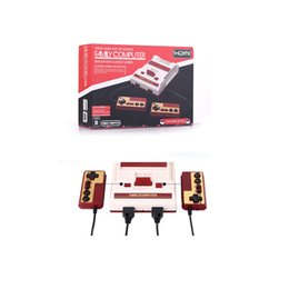 Wholesale Tv Computer Wholesalers - HDMI AV Mini FC Video Game Console NES HD Edition Family Computer Built-in 600 Different Classic Games for NES Game Collection DHL