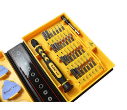 Wholesale Tool Kits For Cellphones - Freeshipping Kaisi multipurpose 38 in 1 Precision Screwdrivers Kit Opening Repair Phone Tools Set for iPhone 4 4s 5 iPad Samsung cellphone