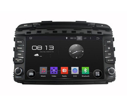 Wholesale Car Dvd Stereo For Sorento - Android 5.1 Car DVD Player for KIA Sorento 2015 with GPS Navigation Radio BT USB AUX WIFI Audio Stereo 4Core 1024*600