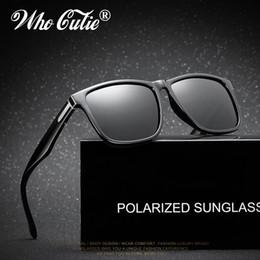 d625ee98bfe 2018 gafas de sol Tom polarizadas para hombres que conducen el marco  cuadrado de alta calidad Male HD aluminio gafas de sol de magnesio que  pescan la lente ...