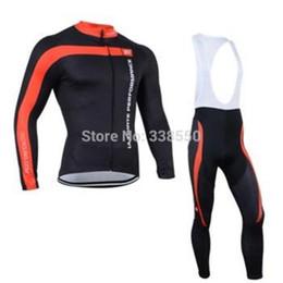2019 maillot cycliste orbea rouge vêtements de cyclisme hommes manches longues + Bib Pants vélo vêtements respirant S-3XL BF0828Winter Thermal Fleece Jersey de polaire