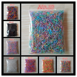 Wholesale hair rubber small - About 1000pcs bag (small package) 2017 New Child Baby TPU Hair Holders Rubber Bands Elastics Girl's Tie Gum Hair Accessories