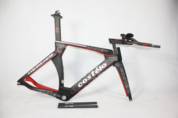 Wholesale Time Carbon Fibre Bike Frames - Wholesale-2015 New !carbon tt frame P5 costelo carbon road frame size51 54 57cm bicycle frame time trial frame road bike bicycle parts