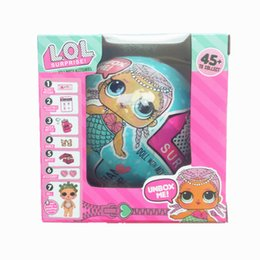 Wholesale Interactive Dolls - Xmas Girls Dolls LOL Surprise Lil Sisters Series 2 Lets Be Friends Action Figures Toys Baby Doll Kids Gifts With Retail Box