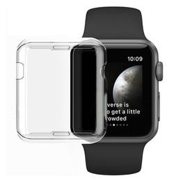 Ultra mince Crystal Clear Soft TPU Protection complète du corps Housse de protection pour Apple Watch Series 3 2 Protecteur d'écran Coque fundas 38mm 42mm ? partir de fabricateur