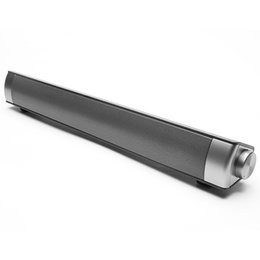 Wholesale portable usb reader - Portable Bluetooth Speaker 10w Mini Wireless Speaker Amplifier HIFI Stereo Sound Bar with Mic USB fone de ouvido