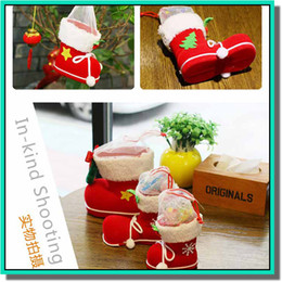 Wholesale Recycling Pc - 50 pcs a lot shoes look gift bag for kid candy bag with three size DHL free shipping