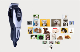 Wholesale Electric Pet Dog Clippers - 28w with cord professional pet hair clipper for dog or cat hair cutting tool pet grooming tool trimmer