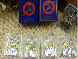 Wholesale Household Sewing - 100pcs(11# 12# 14# 16# 18#)10 per bag Household Sewing Machine Needles HA*1 For Singer Brother Janome Toyota Juki also fit old sewing macine