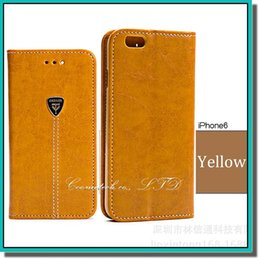 Wholesale Hot Sale Phone Cases - 2015 hot sale phone cover iphone case pu leather case with filp stand and card slot for iphone samsung HTC with 5 colors for choose DHL free