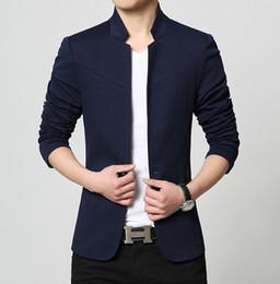 Wholesale Mandarin Suits - Newest Gorgeous exquisite Outerwear Coats Newest Luxury Man Suits Jackets autumn summer Supernova sale Long Sleeves Mandarin Collar